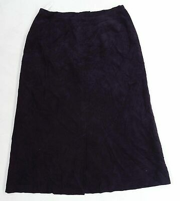 £7 • Buy Cotswold Collection Womens Purple  Corduroy A-Line Skirt Size 14