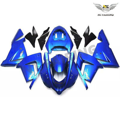 $459.99 • Buy WO Injection Blue New Fairing Kit Fit For Kawasaki Ninja 2004 2005 ZX-10R X013