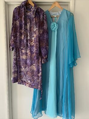 AU199.99 • Buy Bulk Lot Vintage Women's Clothing X 12 Evening Dresses Shirt Etc 70s 80s Retro
