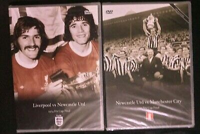 £12.99 • Buy FA Cup Final DVDs - Liverpool V Newcastle & Newcastle V Man City New And Sealed