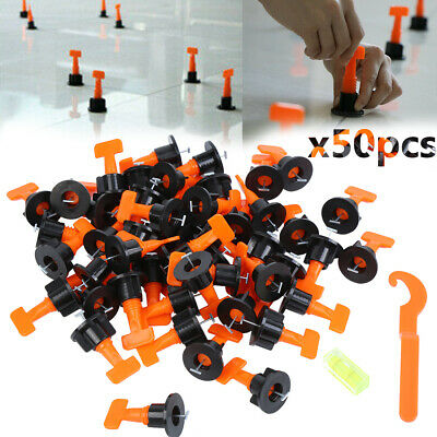 £6.65 • Buy 50PCS Floor Wall Tile Leveler Construction Reusable Leveling System Tools