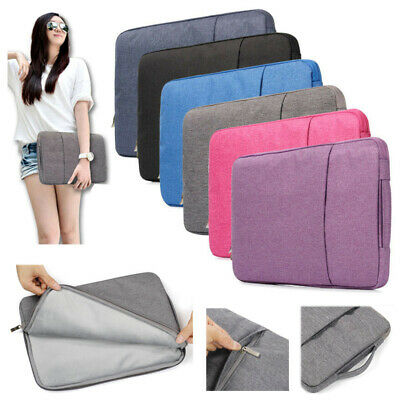$11.35 • Buy Laptop Bag For Macbook 11 12 13 In 13.3 2020 Sleeve Soft Zipper Carry Case Cover