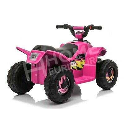 AU79.50 • Buy Kids Ride On ATV Quad 4 Wheeler Electric Toy Car  6V Rechargeable Battery Red