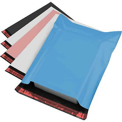 £4.95 • Buy 50 MIXED SIZES Color Envelopes Self Seal Postage Poly Postal Mailing Bags Sacks