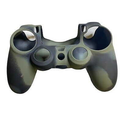 AU16.23 • Buy PS4 Controller Skin Silicone, Grip, Cover For Controller Green Camo