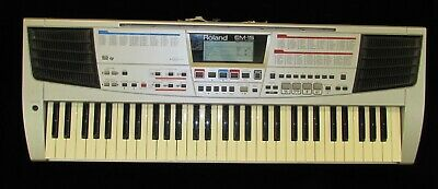 AU373.43 • Buy Roland Em-15 Keyboard Rare Discontinued Synthesizer Synth With Pedal