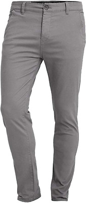 £24.15 • Buy Crosshatch Chinor Men's Smart Casual Slim Fit Stretch Cotton Chino Jeans W30/L32