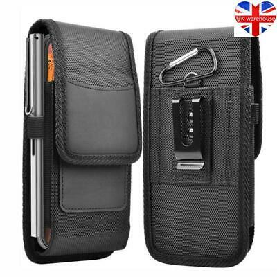 £6.12 • Buy Cell Phone Holster Belt Clip Pouch Rugged Card Holder Nylon Wallet Case Cover UK