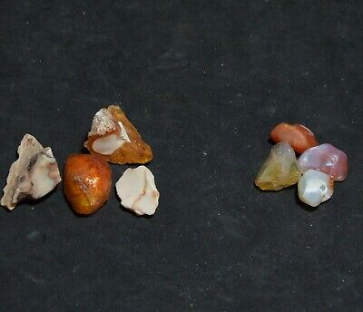 £10 • Buy 31ct Mexican Fire Opal W/fire. Mixed Pieces W/cracks. UK