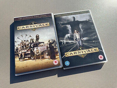 CARNIVALE - The Complete First & Second Season (Series 1 And 2nd) Region 2 DVD • 11.99£