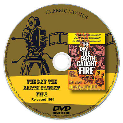 £2.75 • Buy The Day The Earth Caught Fire 1961 Classic DVD Film