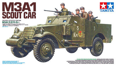$49 • Buy Tamiya 35363 M3A1 Scout Car 1/35 Scale Plastic Model Kit