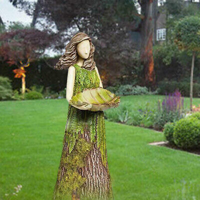 £13.75 • Buy Sherwood Fern Fairy Statuary Garden Sculptures Bird Feeder Art Ornament