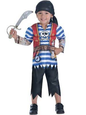 £6.69 • Buy Ahoy Matey Pirate Boys Fancy Dress Buccaneer World Book Day Childs Kids Costume