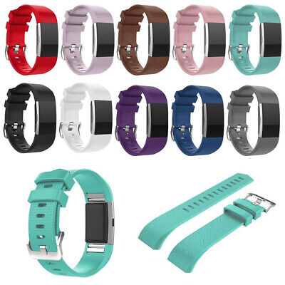 $ CDN6.69 • Buy For Fitbit Charge 2 Replacement Comfortable Strap Smart Watch Band