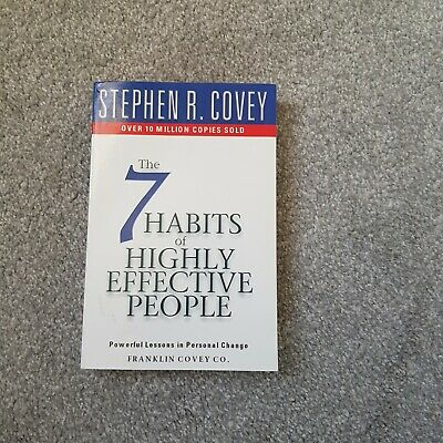 AU8.90 • Buy The7 Habits Of Highly Effective People Powerful Lessons In Personal Change