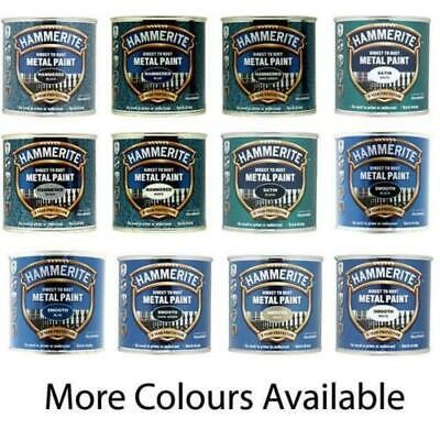 £8.25 • Buy Hammerite Smooth Metal Paint - 250ml Direct To Rust - All Colours Available