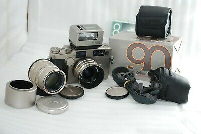 $ CDN2654.19 • Buy  Excellent Contax G2 Body With 28mm F2.8,90mm F2.8 2lens +Flash TLA 400  #4262