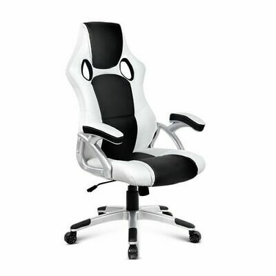 AU79 • Buy Artiss Gaming Office Chair Computer Chairs Seat Racer Racing Black White