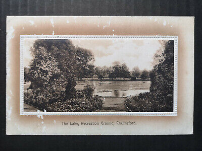 £3.95 • Buy Postcard Essex, Chelmsford, The Lake, Recreation Ground, Posted, Embossed, 1914