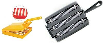 £6.30 • Buy Carpet Cleaning Brush Plastic Handhold Crumb Sweeper Cleaner Collector Roller