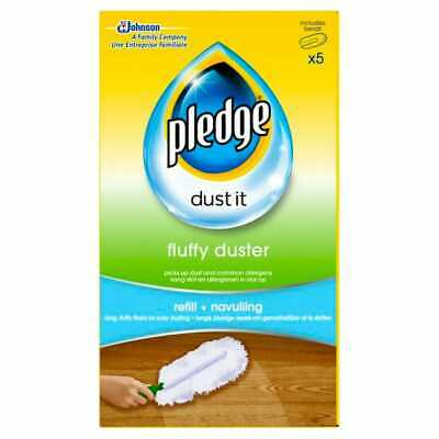 £17.99 • Buy 3 Boxes X Pledge Fluffy Duster Refills. 5 In Each Pack (15 Dusters In All)