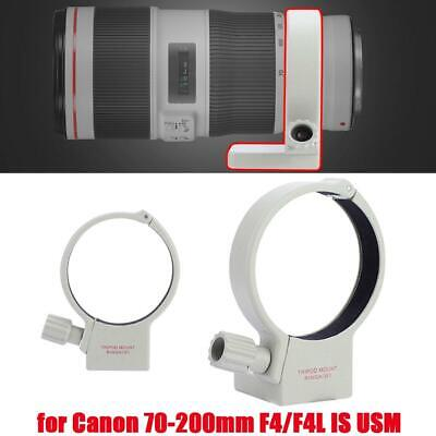 £8.88 • Buy Camera Lens Tripod Ring Mount Collar Ring For Canon 70-200mm F4/F4L IS USM White