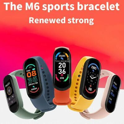 AU9.06 • Buy M6 Smart Watches Sports Watches Smart Wristbands For Men Women
