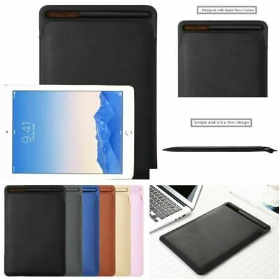 AU14.80 • Buy Quality Leather Pouch Case Holder For IPad Pro 10.5/9.7 Cover With New Pencil