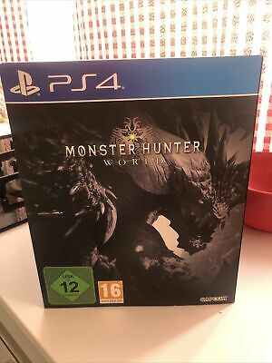 AU383.55 • Buy Monster Hunter World - Collector Edition Ps4