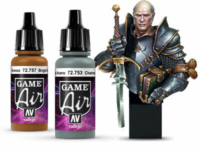 £3.35 • Buy Vallejo Acrylic Paints Game Air 17ml Choose / Mix From Full Range Fantasy Model