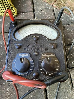 £100 • Buy Vintage Universal Avometer Model 8 MK4 With Leather Case Leads & Instructions