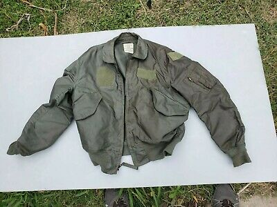 $ CDN107.54 • Buy Cwu-36/p Flight Jacket ,100% Aramid, Us Made, Issue, Large