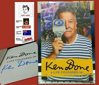 £14.28 • Buy ** SIGNED ** KEN DONE A LIFE COLOURED IN - *** SIGNED COPY ***  Art / ABio