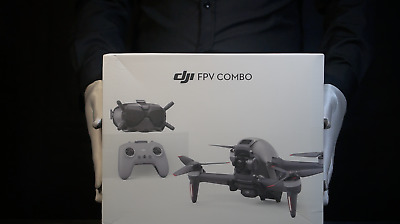 AU2089.05 • Buy Genuine DJI FPV Drone Combo Boxed - 'The Masked Man'