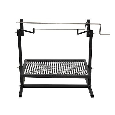 £37.54 • Buy Rotisserie Grill Outdoor Campfire Cooking Camping Equipment Kitchen Patio 24x16