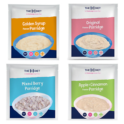 £16.70 • Buy 7x The 1:1 Weight Plan Diet Products - CWP Porridge - Choose Any Flavour