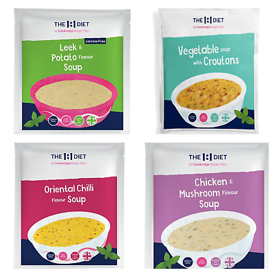 £16.70 • Buy 7x The 1:1 Weight Plan Diet Products - CWP Soup - Choose Any Flavour