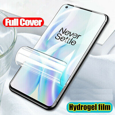 AU3.24 • Buy Clear Screen Protector For Oneplus 9 Pro 8 Pro 8T Nord N10 5G 7T Protective Film