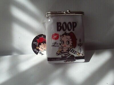 £10 • Buy Betty Boop PVC Coin Purse / Wallet Brand New With Tags