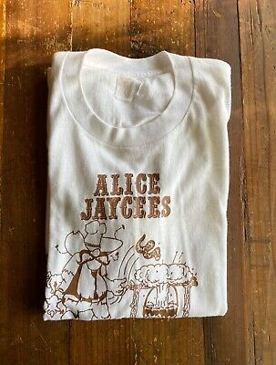 $ CDN30.33 • Buy Vintage 70's Southern Athletic T-Shirt Alice Texas Chili Cook Off Jaycees M