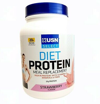 £18.99 • Buy USN Select Diet Protein Meal Replacement For Weight Control Strawberry 850g