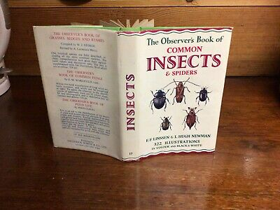 £19.99 • Buy Observers Book Of Common Insects & Spiders 1966;:
