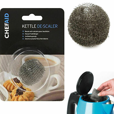 £1.91 • Buy New Chef Aid Kettle Doughnut Descaler Mesh Lime Fur Steel Wire Collector Remover