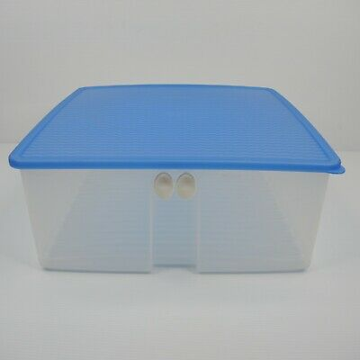 AU38 • Buy Tupperware Large Square Fridge Smart 8L Blue
