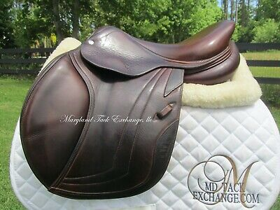 $ CDN3602.21 • Buy 16.5  CWD SE01 Close Contact Jumping CALFSKIN French Saddle 2L Flaps-2014 MODEL!