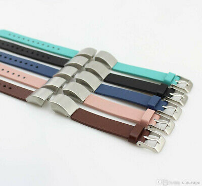 AU23.54 • Buy Fitbit Alta Leather Replacement Wristband Strap Band Bracelet