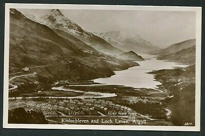 Kinlochleven Argyll - General View By JB White RP C1930 • 3£