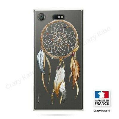 AU17.84 • Buy Cover For Sony Xperia XZ1 Compact Flexible Pattern Dreamcatcher Nature