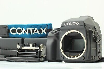 $ CDN2903.76 • Buy 【N Mint W/Manual】Contax 645 +AE Finder MF-1 + 120/220 Film Back MFB-1 From JAPAN